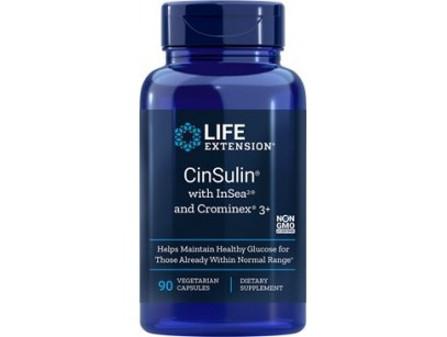Life Extension CinSulin® with InSea2® and Crominex® 3+
