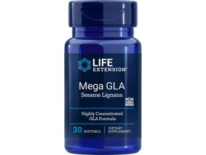 Life Extension Mega GLA with Sesame Lignans