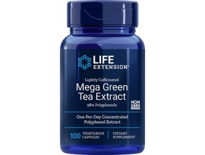 Life Extension Mega Green Tea Extract (Lightly Caffeinated)