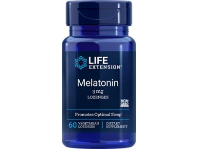 Life Extension Melatonin 3mg Lozenges