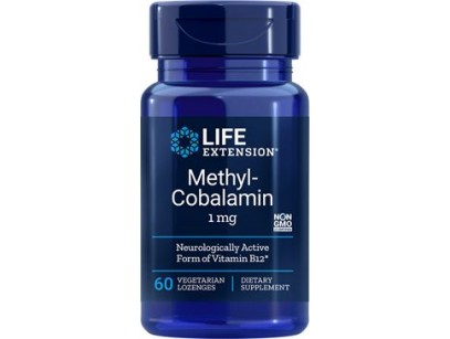 Life Extension Methylcobalamine 1mg Lozenges
