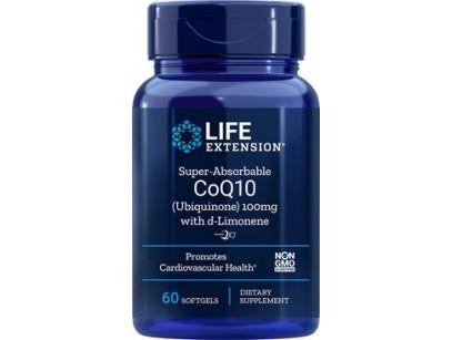 Life Extension Super-Absorable CoQ10 (Ubiquinone) with d-Limonene 100mg