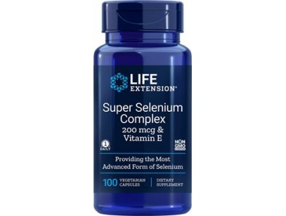 Life Extension Super Selenium Complex 200mcg & Vitamin E