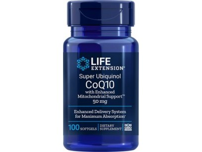Life Extension Super Ubiquinol CoQ10 with Enhanced Mitochondrial Support™ 50mg